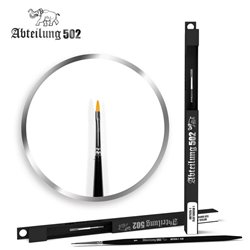 ABTEILUNG 502 ABT835-1 Flat Brush Deluxe Synthetic 1