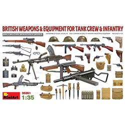 MINIART 35361 1/35 British Weapons & equipment for tank crew & infantry