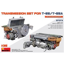 MINIART 37073 1/35 Transmission set for T-55/T-55A