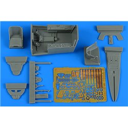 AIRES 2251 1/32 Fw 190A-8 cockpit set for REVELL