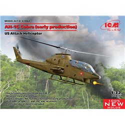 ICM 32060 1/32 AH-1G Cobra (early production), US Attack Helicopter