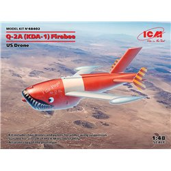 ICM 48402 1/48 Q-2A (KDA-1) Firebee, US Drone (2 airplanes and pilons)