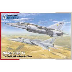 SPECIAL HOBBY SH72435 1/72 Mirage F.1AZ/CZ The South African Commie Killers