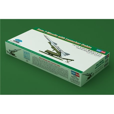HOBBY BOSS 82933 1/72 Sam-2 Missile with Launcher Cabin
