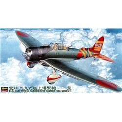 HASEGAWA 09055 1/48 Aichi D3A1 Type 99 Carrier Dive Bomber (Val) Model 11