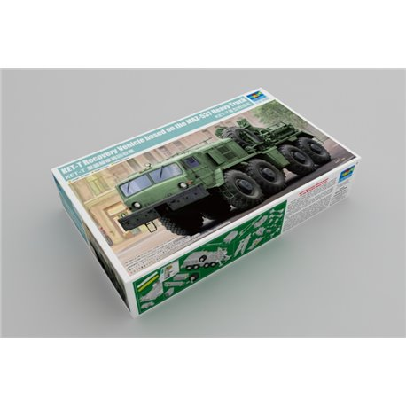 TRUMPETER 01079 1/35 KET-T Recovery Vehicle based on the MAZ-537 Heavy Truck