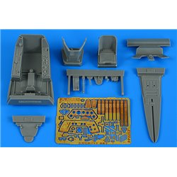 AIRES 2253 1/32 Fw 190A-8 cockpit set for HASEGAWA