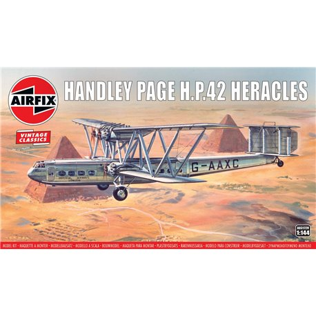 AIRFIX A03172V 1/144 Handley Page HP.42 Heracles