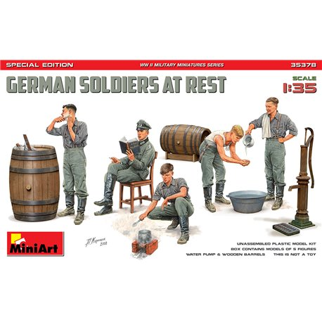 MINIART 35378 1/35 German Soldiers at Rest