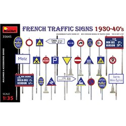 MINIART 35645 1/35 French Traffic Signs, 1930-40's