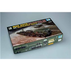 TRUMPETER 00212 1/35 MAZ-537G Late Production
