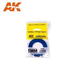 AK INTERACTIVE AK9181 MASKING TAPE FOR CURVES 1MM