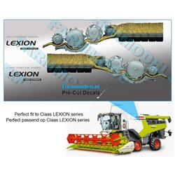 FARMMODELS PCD-CL-950250 1/32 Stickers CLaas LEXION CEMOS AUTOMATIC