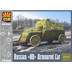 """COPPER STATE MODEL 35007 1/35 Russian """"RB"""" Armoured Car"""