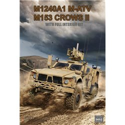 RYE FIELD MODEL RM-5052 1/35 M1240A1 M-ATV (M153 CROWS II) with Full Interior