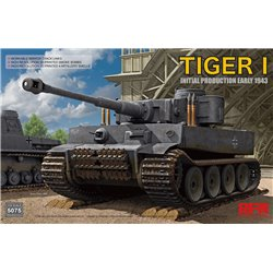 RYE FIELD MODEL RM-5075 1/35 Tiger I Initial Production Early 1943