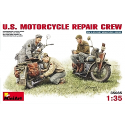 MiniArt 35101 Maquette 1/35 U.S. MOTORCYCLE REPAIR CREW