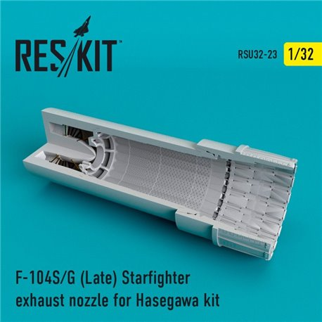 RESKIT RSU32-0023 1/32 F-104 Starfighter (S/G Late) exhaust nozzle for Hasegawa Kit