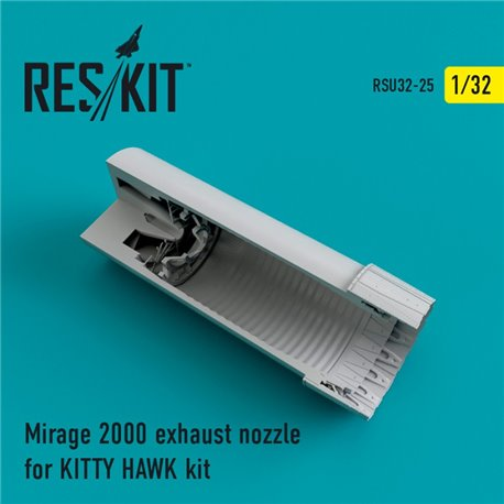 RESKIT RSU32-0025 1/32 Mirage 2000 exhaust nozzles for KITTY HAWK KIT