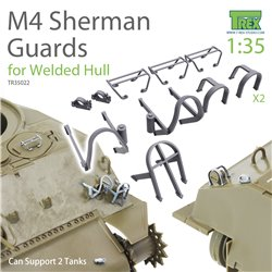 T-REX STUDIO TR35022 1/35 M4 Sherman Guards for Welded Hull