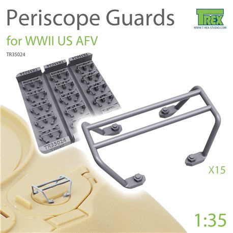 T-REX STUDIO TR35024 1/35 Periscope Guards for WWII US AFV