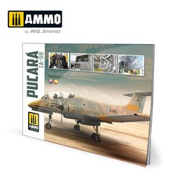 AMMO BY MIG A.MIG-6025 IA-58 Pucará Visual Modelers Guide (Multilingual)