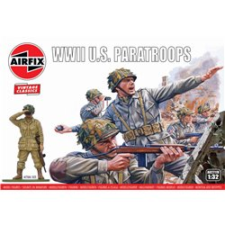 AIRFIX A02711V 1/32 WWII U.S. Paratroops