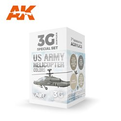 AK INTERACTIVE AK11750 US Army Helicopter Colors SET 3G