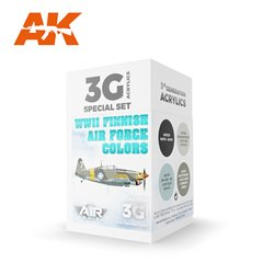 AK INTERACTIVE AK11739 WWII Finnish Air Force Colors SET 3G