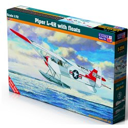 MISTERCRAFT D-254 1/72 Piper L-4H with floats