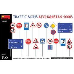 MINIART 35640 1/35 TRAFFIC SIGNS AFGHANISTAN 2000's