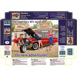 MASTERBOX MB24082 1/24 The Legendary 60's series On new adventures!