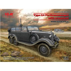 ICM 35530 1/35 G4 with armament, WWII German Car