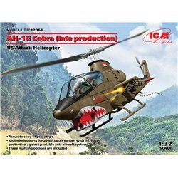 ICM 32061 1/32 AH-1G Cobra (late production), US Attack Helicopter
