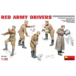 MIniArt 35144 Maquette 1/35 RED ARMY DRIVERS