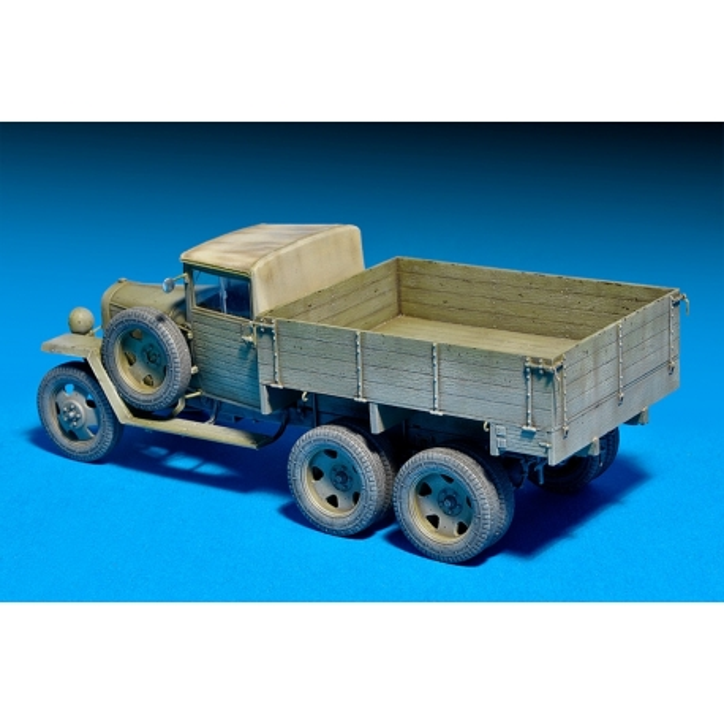 MiniArt 35133 Maquette 1/35 GAZ-AAA Mod. 1943. CARGO TRUCK
