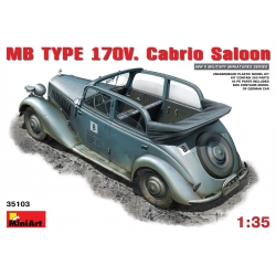 MINIART 35103 1/35 MB Type 170V Cabrio Saloon