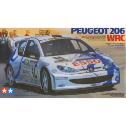 Tamiya 24221 1/24 Maquette Peugeot 206 WRC