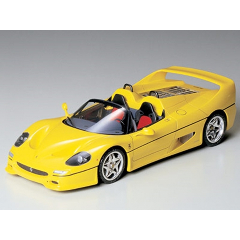 tamiya 24297 1/24 ferrari f50 yellow - passion132