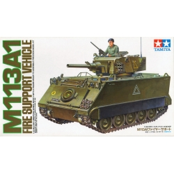 Tamiya 35107 1/35 Maquette M113A1 Fire Support Vehicle