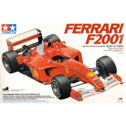 Tamiya 20052 1/20 Maquette Ferrari F2001