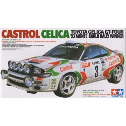 Tamiya 24125 1/24 Maquette Toyota Celica GT-4 1993 Monte Carlo