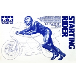 Tamiya 14124 1/12 Maquette Starting Rider kit