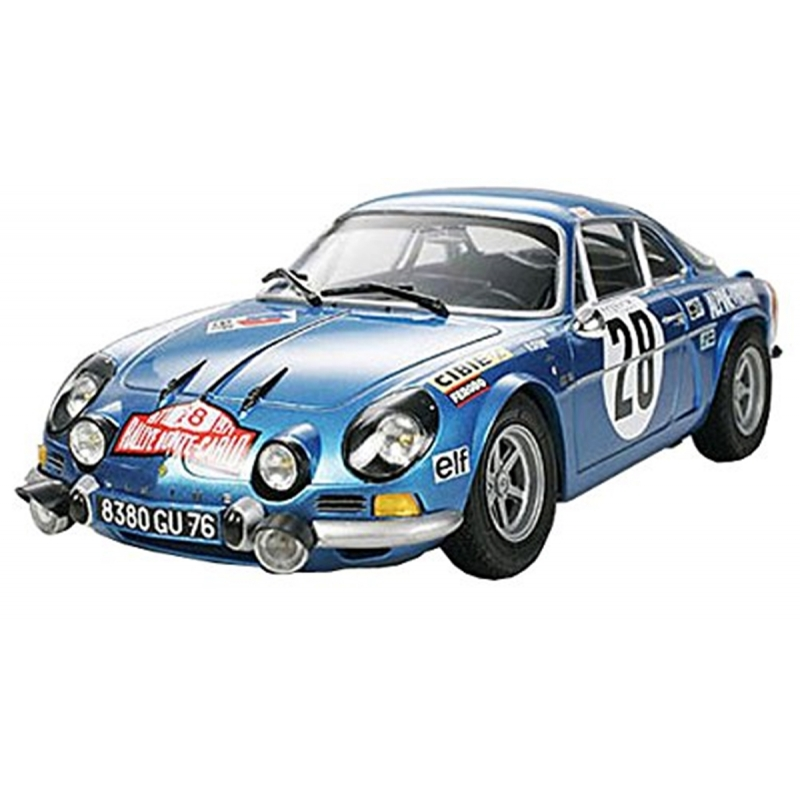 tamiya 24278 1 24 renault alpine a110 39 71 monte carlo passion132. Black Bedroom Furniture Sets. Home Design Ideas