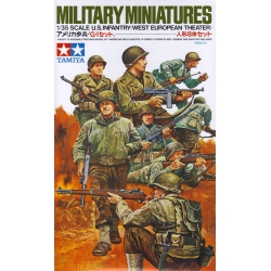 Tamiya 35048 Maquette 1/35 US Infantry West European Theater