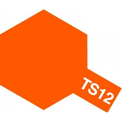 TAMIYA 85012 Peinture Bombe Spray Aérosol TS-12 Orange Brillant / Orange Gloss