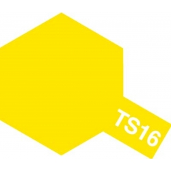 Tamiya 85016 Peinture Bombe Spray TS-16 Jaune brillant / Yellow