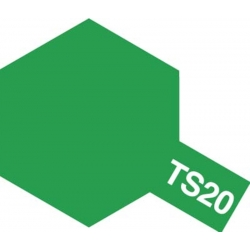 TAMIYA 85020 Peinture Spray Bombe TS-20 Vert Métallisé / Metallic Green