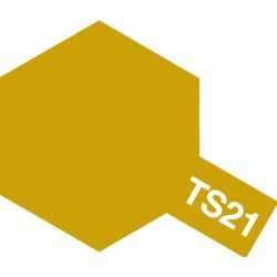 TAMIYA 85021 Peinture Bombe Spray Aérosol TS-21 Doré Brillant / Gold