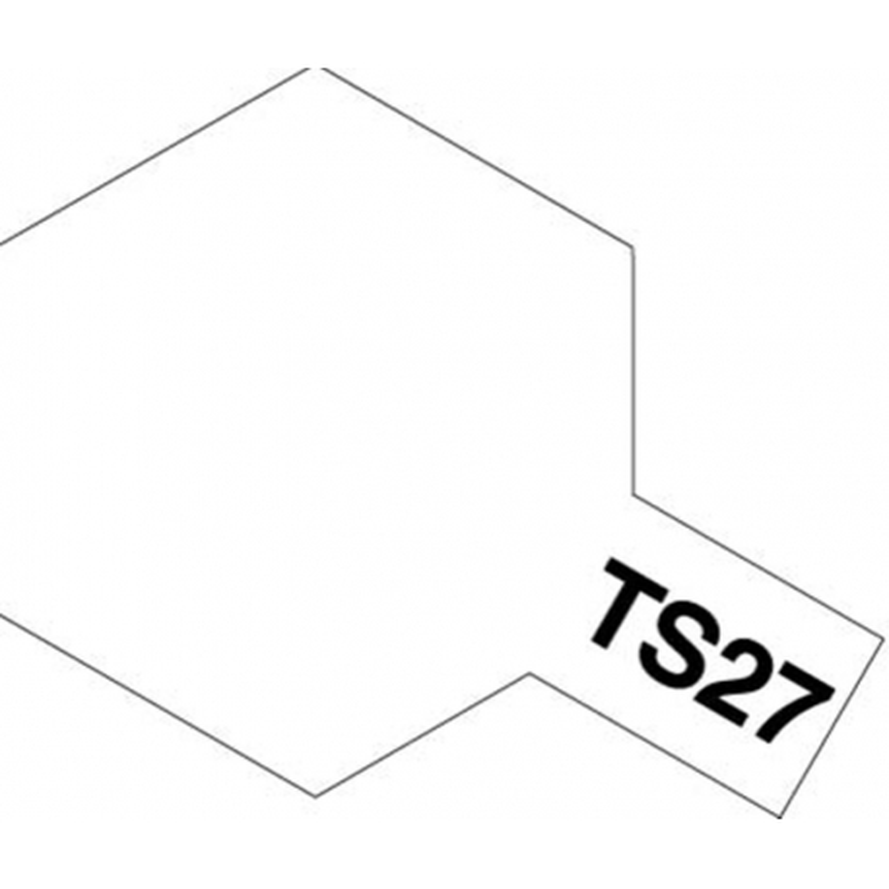 TAMIYA 85027 Peinture Bombe Spray TS-27 Blanc Mat / Matt White